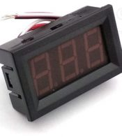 voltimetro digital 12v