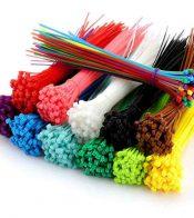 bridas sujetacables de colores